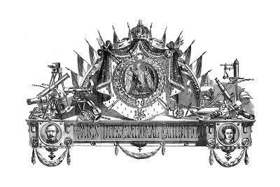 Emblem of the Paris International Exhibition, 1867--Giclee Print