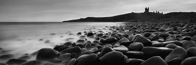 Embleton Bay with Dunstanburgh Castle in Distance, Northumberland,England,Uk-Design Pics Inc-Photographic Print