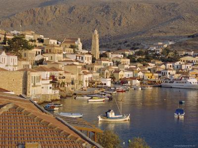 Emborio, Khalki (Chalki), Near Rhodes, Dodecanese Islands, Greece, Europe-Robert Harding-Photographic Print