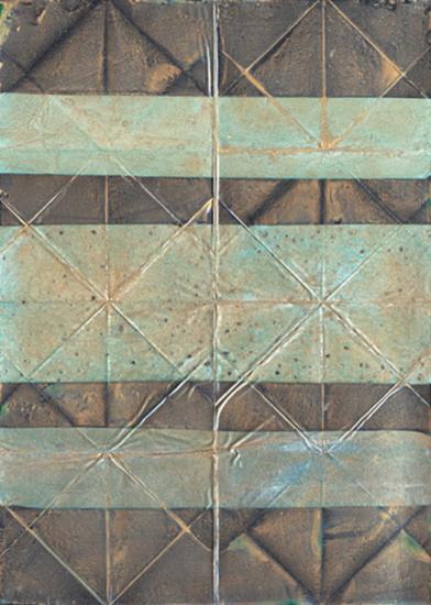 Embossed Patina II-Vanna Lam-Art Print