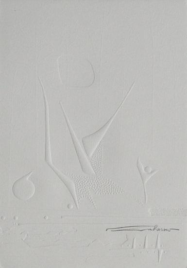 Embossing I--Collectable Print