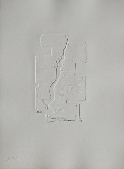 Embossing II--Collectable Print