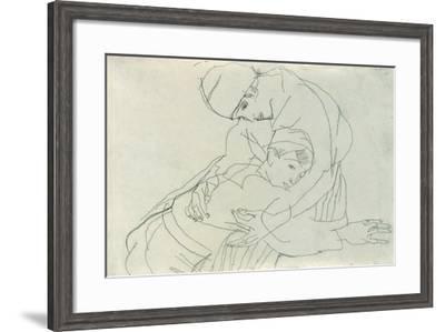 Embrace, 1914-Egon Schiele-Framed Giclee Print