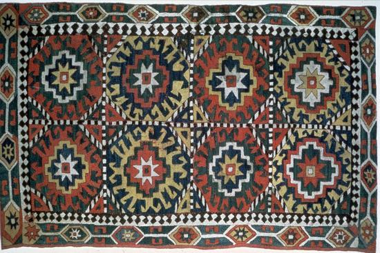 Embroidered cover, Caucasus, 18th century. Artist: Unknown-Unknown-Giclee Print