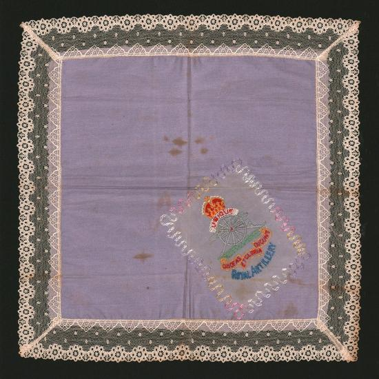 Embroidered Lace Handkerchief-Unknown-Giclee Print