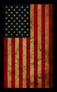 American Grunge Flag. an American Grunge Flag for A Background of A Poster. by emeget