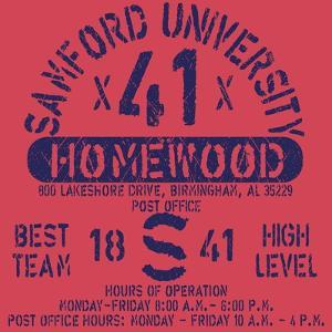 Football Athletic Sport Samford Typography, T-Shirt Graphics, Vectors by emeget