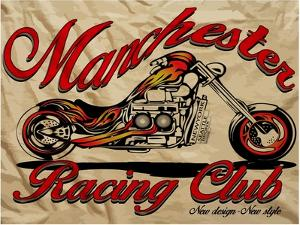 Illustration Sketch Motorcycle with T Shirt Prints Vector Graphic by emeget