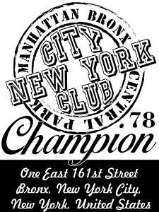 New York City Graphic Design Vector Art by emeget