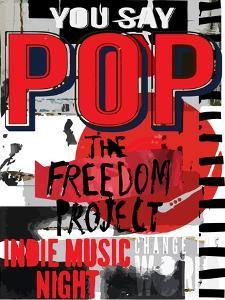 Pop Music, Poster Background Template. Vector Graphic Design. by emeget