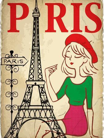 Pretty Girl in the Paris