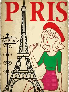 Pretty Girl in the Paris by emeget