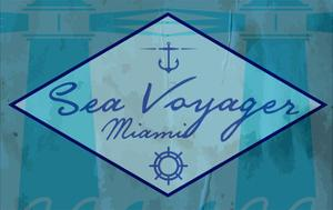 Sea Voyager Vector Illustration of Vintage Nautical Label. Nautical Anchor. Symbol of Sailors, Sail by emeget
