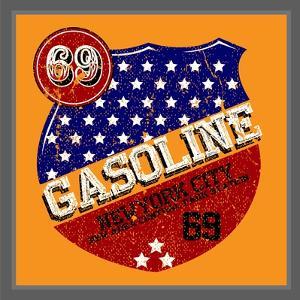 Vintage Gasoline & Motor Oil | T-Shirt Printing by emeget