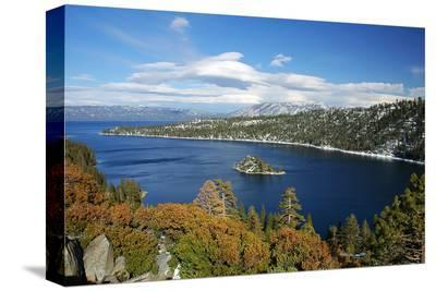 Emerald Bay Lake Tahoe CA--Stretched Canvas Print