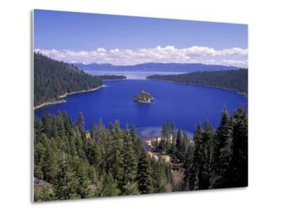 Emerald Bay, Lake Tahoe, California, USA-Adam Jones-Metal Print