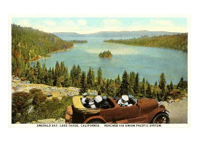 Emerald Bay, Lake Tahoe--Art Print
