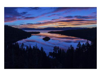 Emerald Bay Sunrise Lake Tahoe-Michael Polk-Art Print
