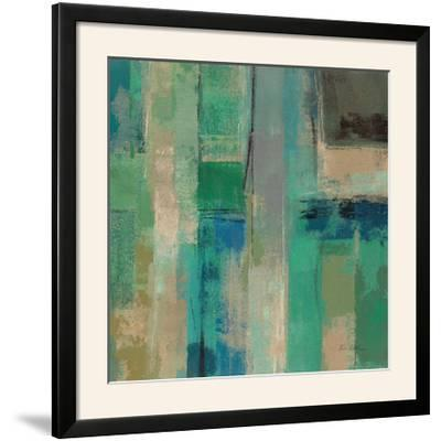 Emerald Fields Square II-Silvia Vassileva-Framed Photographic Print
