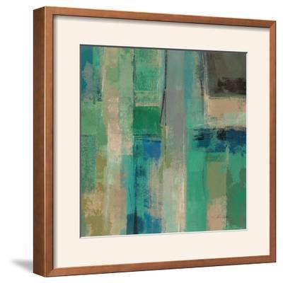 Emerald Fields Square II-Silvia Vassileva-Framed Photographic Print