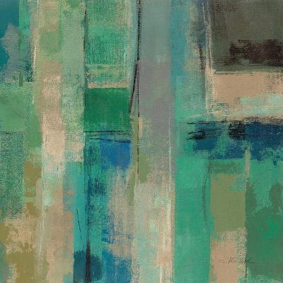 Emerald Fields Square II-Silvia Vassileva-Art Print