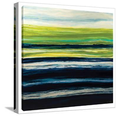 Emerald Horizon-Barbara Biolotta-Stretched Canvas Print