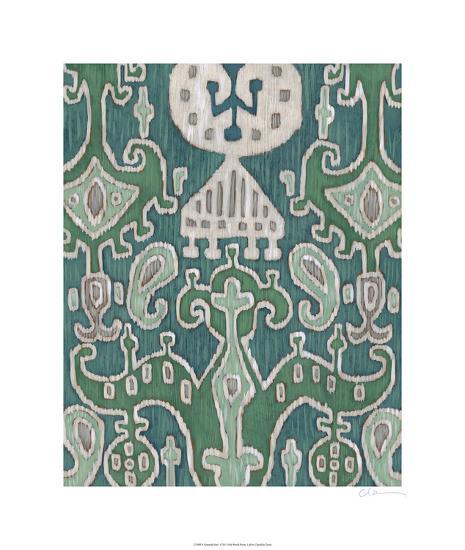 Emerald Ikat I-Chariklia Zarris-Limited Edition