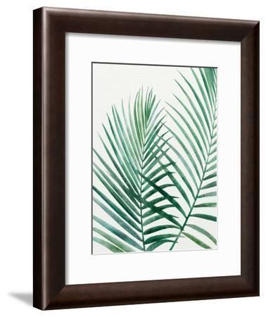 Emerald Palms-Modern Tropical-Framed Art Print
