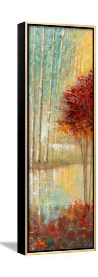 Emerald Pond II-Ruane Manning-Framed Canvas Print