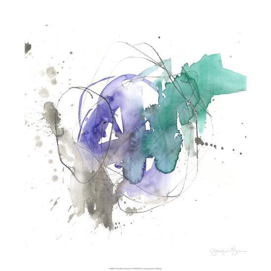 Emerald & Ultraviolet II-Jennifer Goldberger-Limited Edition