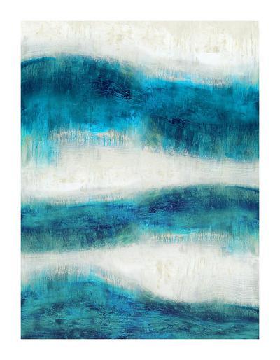 Emerge in Aqua-Jaden Blake-Giclee Print