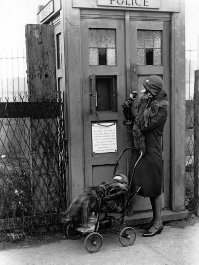 Emergency Call Box--Photographic Print