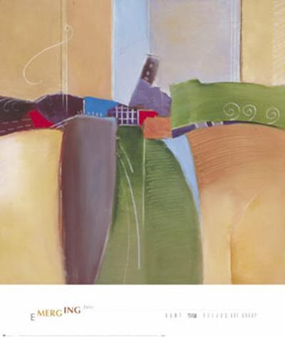 Emerging II-Kamy-Art Print