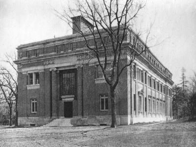 Emerson Hall, Harvard University, Cambridge, Massachusetts, USA, Early 20th Century--Photographic Print