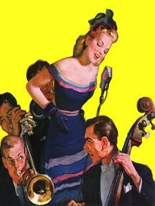"""""""Big Band and Songstress,""""April 15, 1939 by Emery Clarke"""