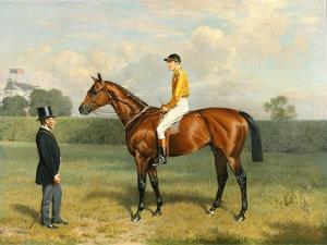 'Ormonde', Winner of the 1886 Derby, 1886 by Emil Adam