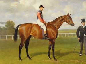 Persimmon, Winner of the 1896 Derby by Emil Adam