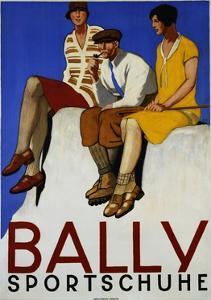 Bally Sportschuhe Poster by Emil Cardinaux