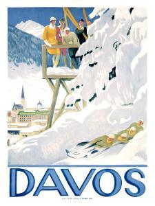 Davos by Emil Cardinaux