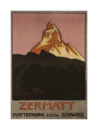Zermatt, 1908