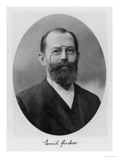 Emil Fischer, German Chemist--Giclee Print