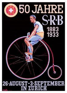 S.R.B. Bicycle Federation by Emil Huber