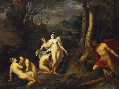 Diana and Actaeon, 1832