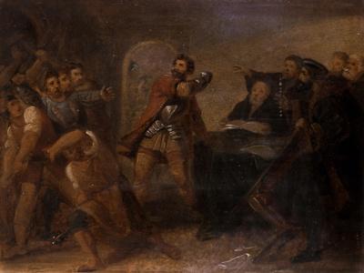 Study of Gottfried Von Berlichingen