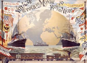 Voyage au Tour du Monde by Emil Jakob Schindler