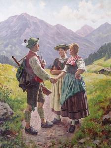 Mountain Sweethearts by Emil Karl Rau