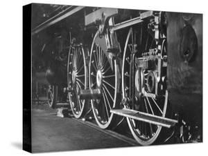 Borseg Werke Train Engine Wheels by Emil Otto Hopp?
