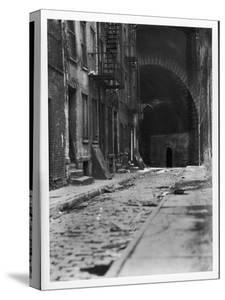 Alley on the Bowery, New York by Emil Otto Hoppé
