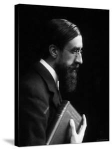 English Biographer and Critic Lytton Strachey, Best Known for His Book Eminent Victorians by Emil Otto Hoppé