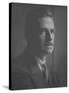 Portrait of American Dramatist Eugene O' Neill by English Photographer E. O. Hoppe by Emil Otto Hoppé